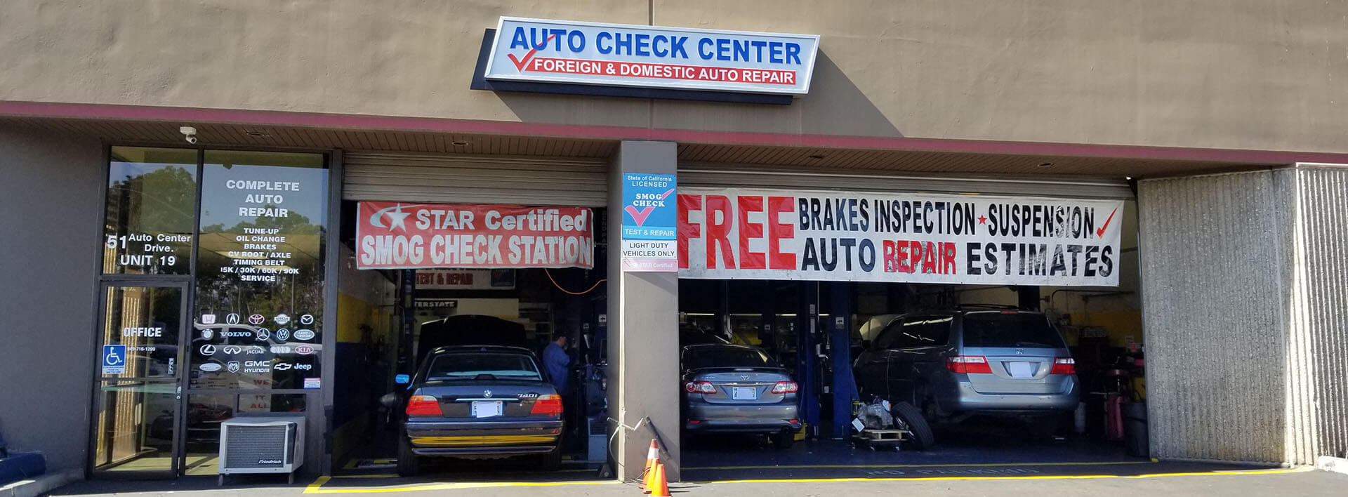 Irvine Auto Center >> Auto Repair Irvine Auto Check Center 51 Auto Center Dr
